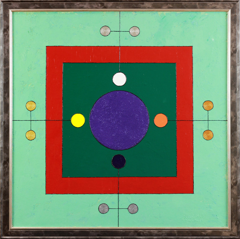№ 19. The Personal Yantra for Mr. Anatoliy Drobakha