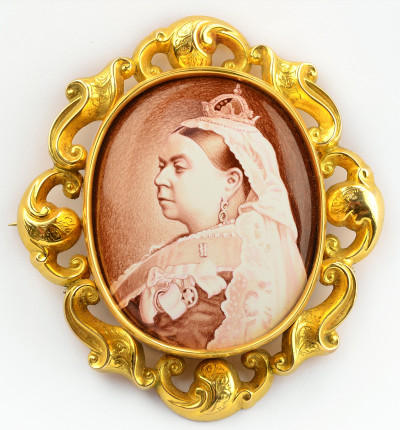 Queen Victoria's portrait