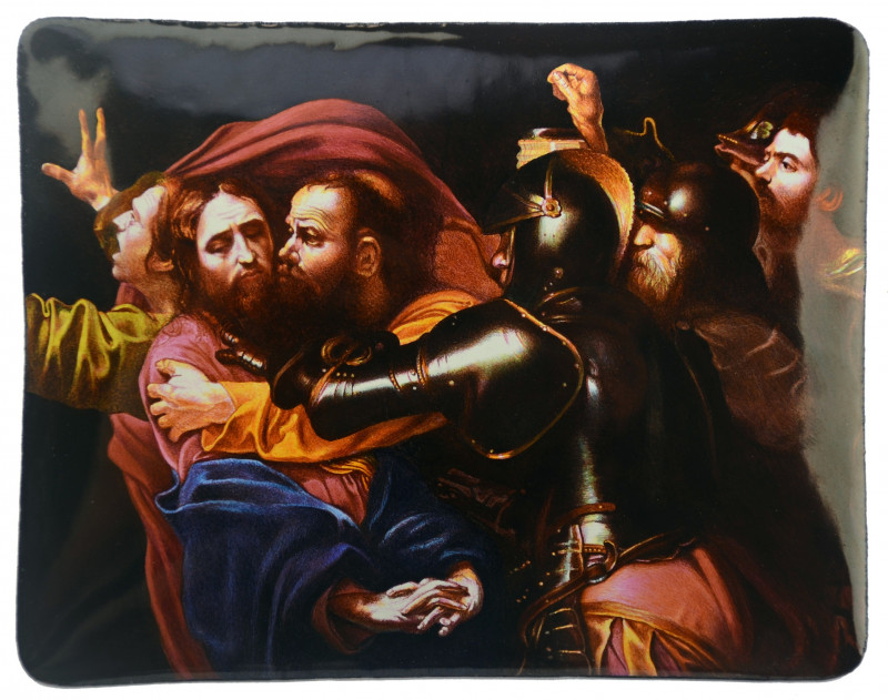 'The Taking of Christ' after Caravaggio