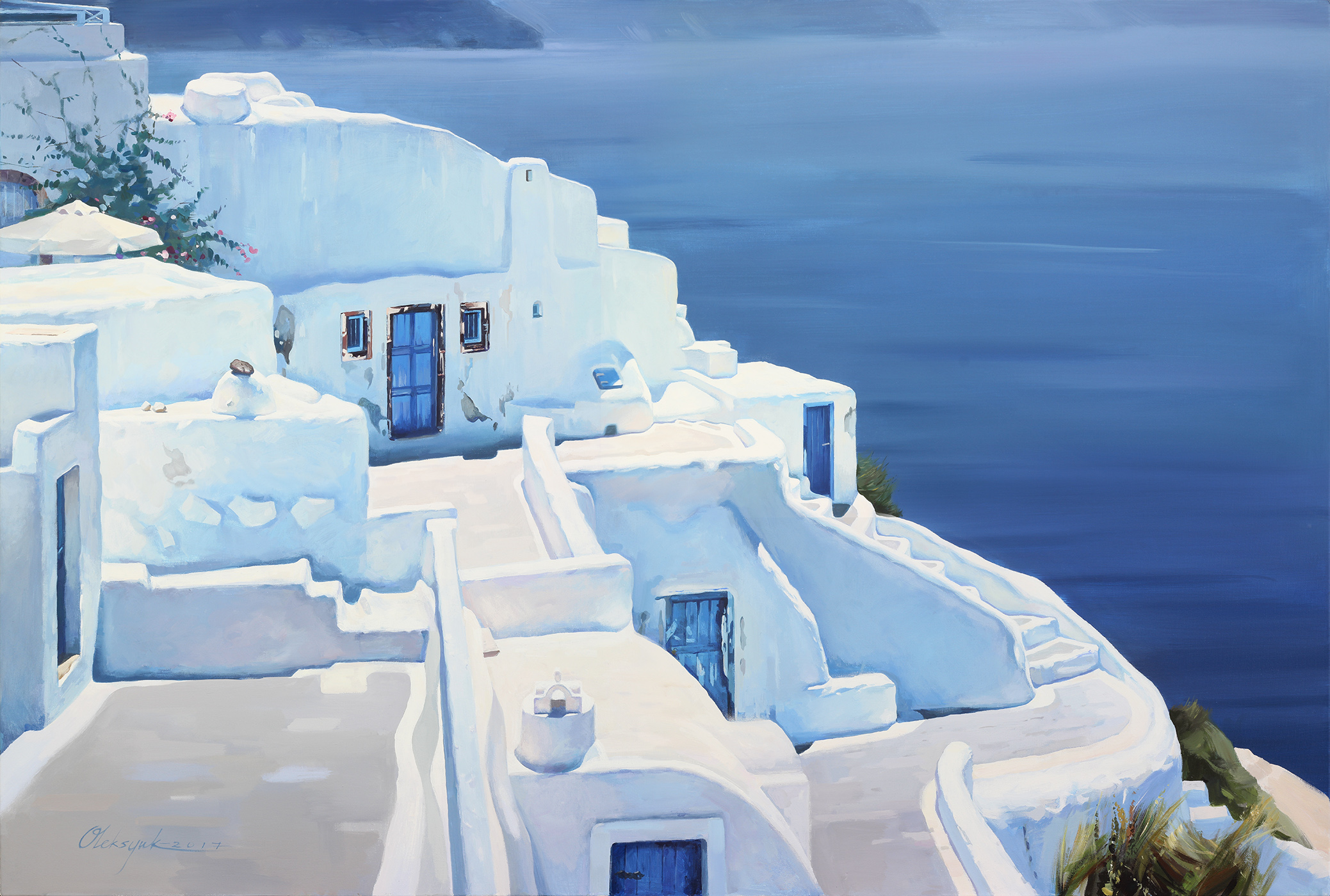 #1. Santorini Meditative views