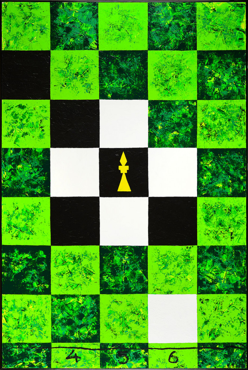 Threefold Game With Five Unknowns. Green
