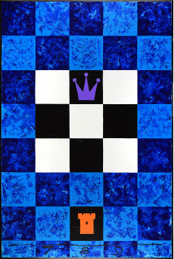 Threefold Game With Five Unknowns. Blue