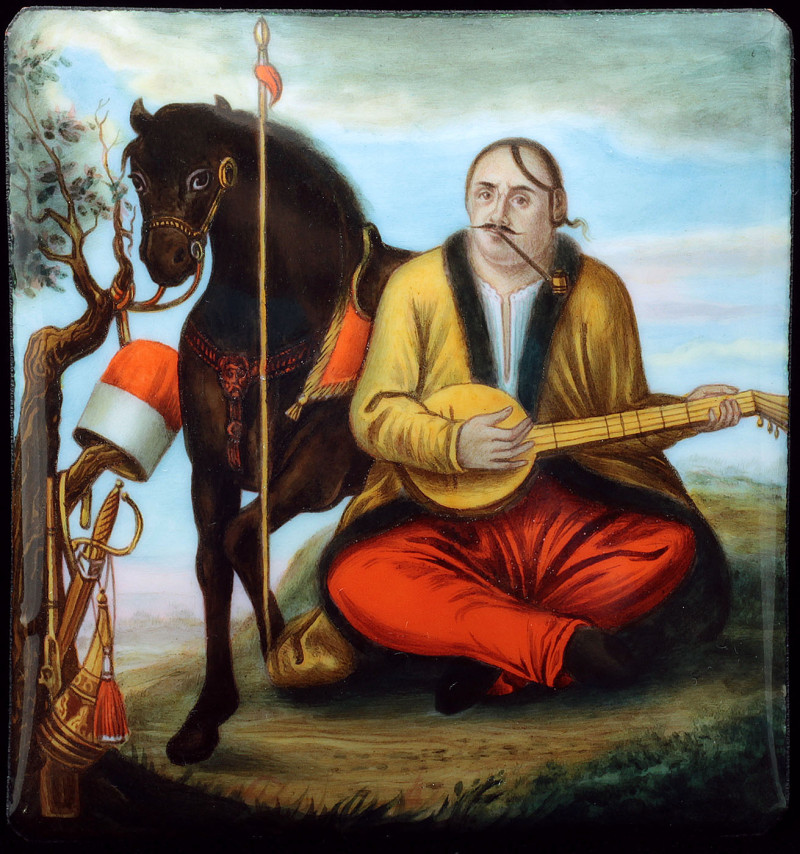 'Cossack Mamai' after uknown painter from 18th century