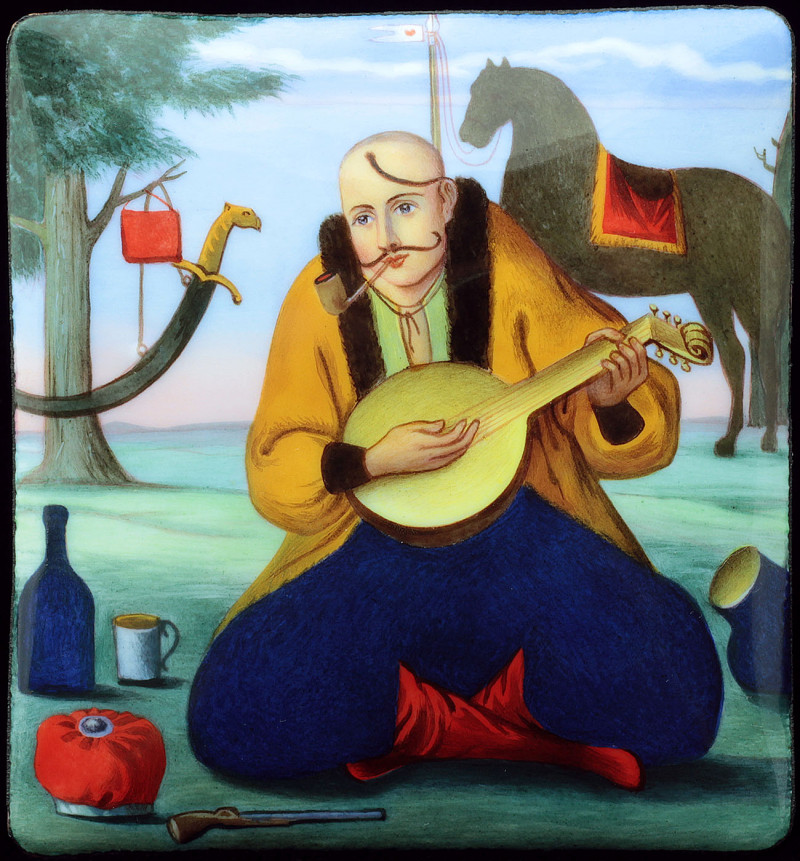 'Cossak-Bandurist' after uknown painter from 1836